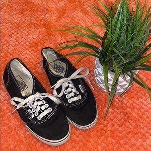 Vans Shoes - Black and white Vans